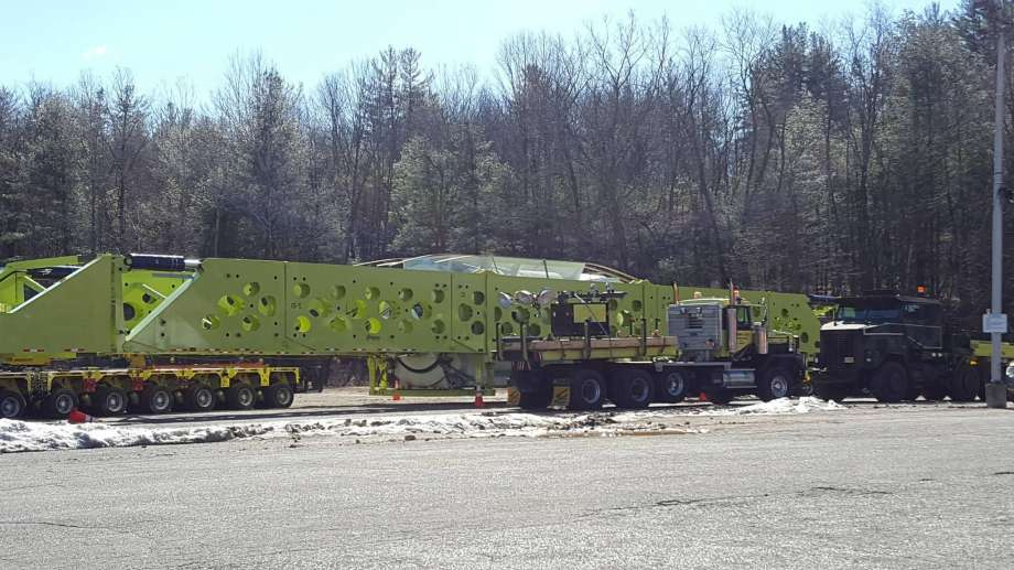 Million-pound load headed for Oxford power plant [CTPost & NBC